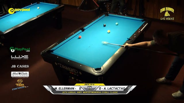 #9 - Andy Mercer 9-Ball - Mitch ELLER...