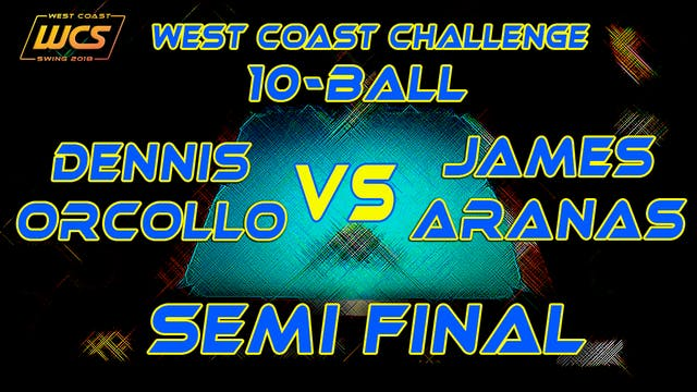WCS '18 / 10-Ball / SEMI FINAL / ORCO...