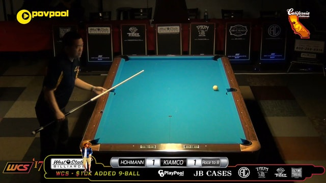 #5 - FINAL Pt 2  - W. KIAMCO vs T. HOHMANN