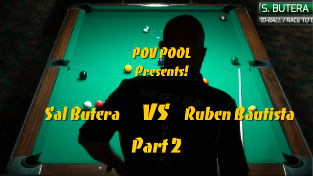 """10-Ball Action"" - Bautista vs Butera - Ep #2"