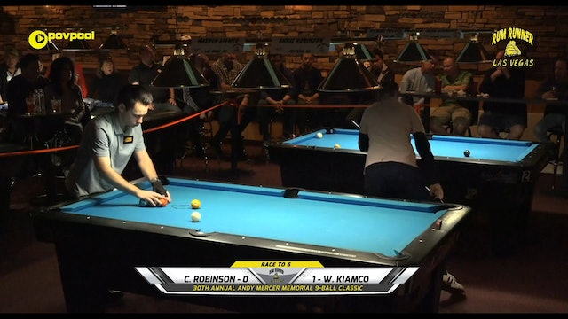 #22 - Andy Mercer 9-Ball - Chris ROBINSON vs Warren KIAMCO / 2020