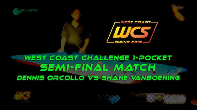 WCS '18 / West Coast Challenge 1-Pocket / Semi-Final