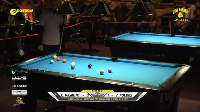 #26 - FINALS - Andy Mercer 9-Ball - Vilmos FOLDES vs Chad VILMOMT / 2020