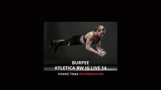 ATLETICA IG LIVE BW BURPEE #14
