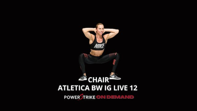 ATLETICA IG LIVE BODYWEIGHT CHAIR #12