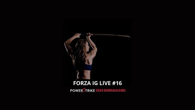 FORZA IG LIVE #16