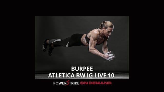 ATLETICA IG LIVE BW BURPEE #10