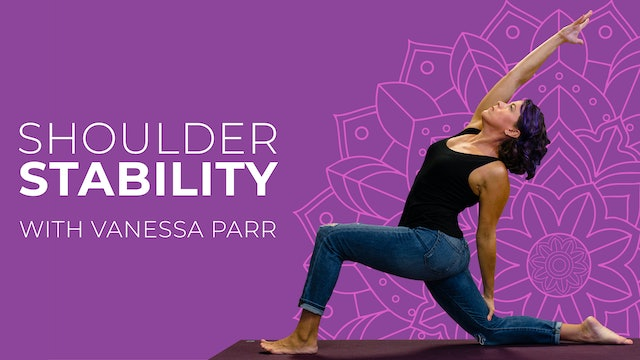 Shoulder Stability With Vanessa