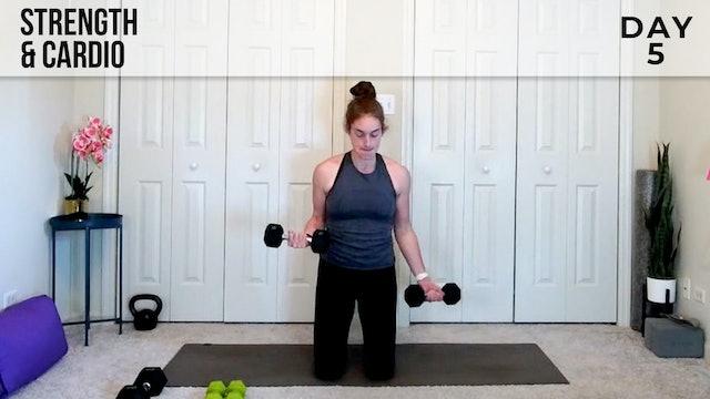 Strength & Cardio Flow: Sculpted Arms