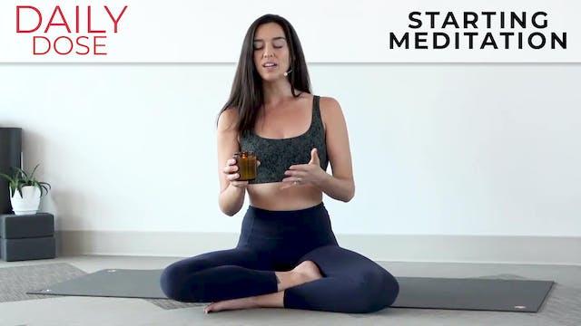 Julia Marie: Daily Dose - Starting a ...