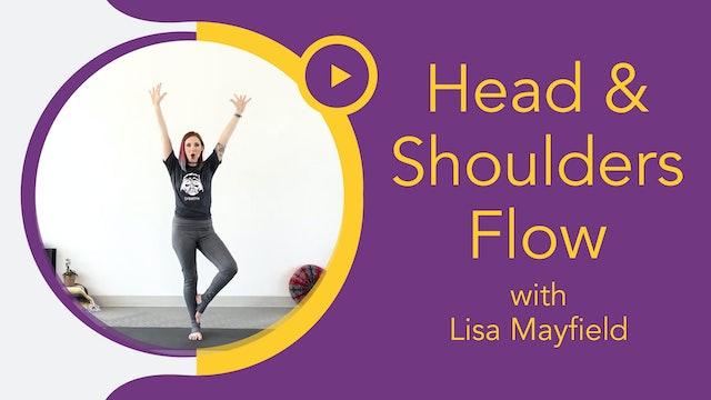 Littles with Lisa : Head & Shoulders Yoga Flow (3 - 6yrs)