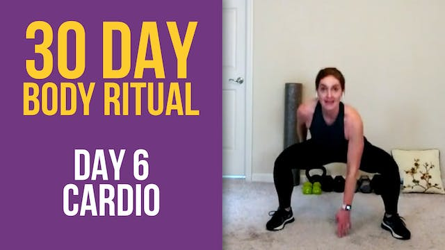 30 Day Body Ritual Challenge: Day 6