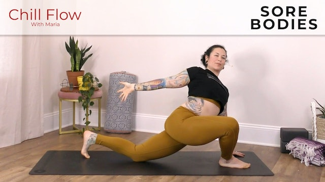Maria : Chill Flow For Sore Bodies
