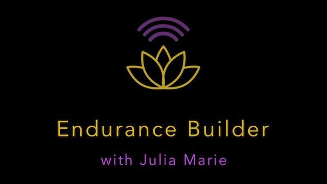 Endurance Builder Jog with Julia Marie