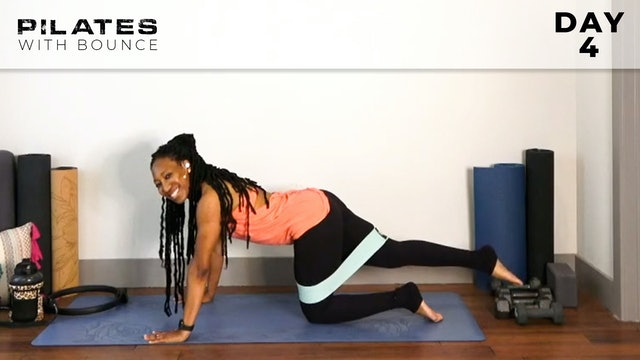 Bounce: Mat Pilates Challenge: Burning Buns!