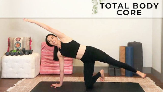 Julia Marie:  Total Core Workout