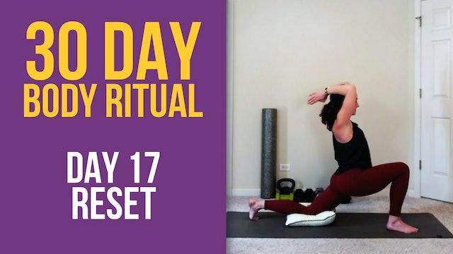 Hannah 30 Day Body Ritual Challenge - Day 17