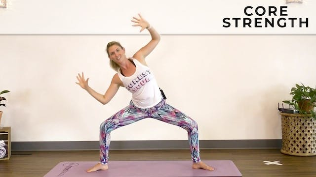 Alex: Intro To Flow - Core Strength