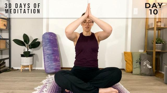 30 Days of Meditation - Day 10