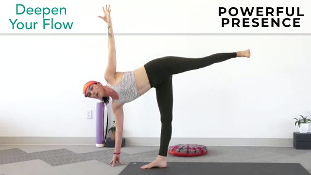 Julia Marie : Deepen Your Flow - Powerful Presence