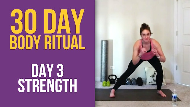 Hannah: 30 Day Body Ritual Challenge - Day 3
