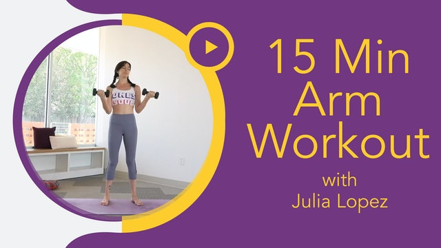 Julia Marie : Get Fit - 15 Minute Arms