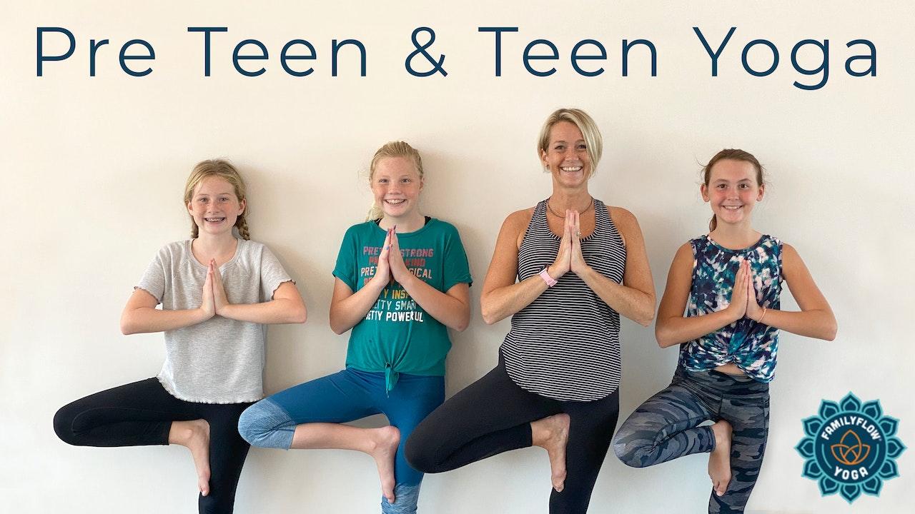 Movement & Mindset for Tweens, Teens, and Parents