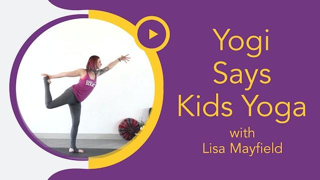 Littles with Lisa: Yogi Says (3-6yrs)