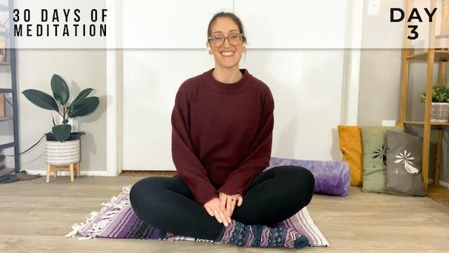 30 Days of Meditation - Day 3