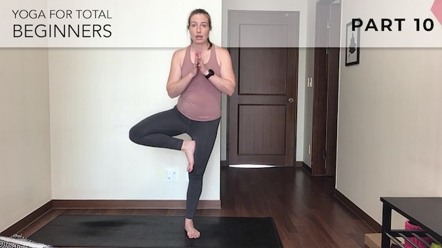 Evelyn at Home: Yoga For Total Beginners - Part 10
