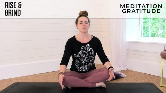 Meditation & Rest with Jess - Gratitu...