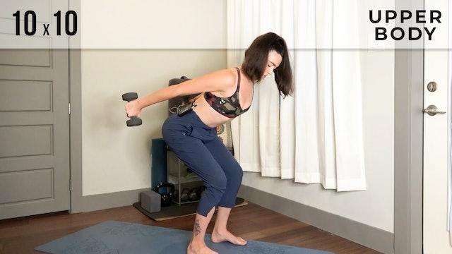 Julia: 10x10 Upper Body Workout