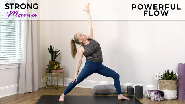 Strong Mama: Powerful Pregnancy Flow