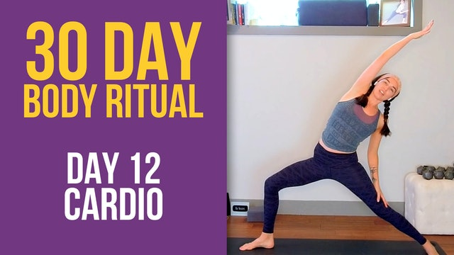 Julia Marie: 30 Day Body Ritual Challenge - Day 12