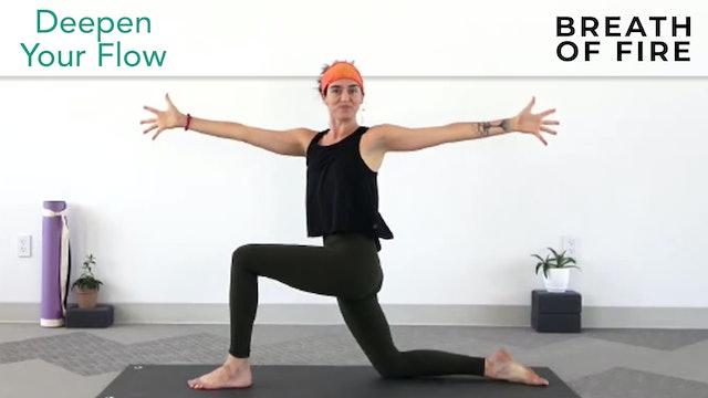 Julia Marie: Deepen Your Flow - Breath of Fire Energizing Flow