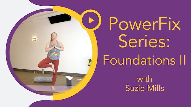 Suzie Mills : Power Yoga - Foundations II