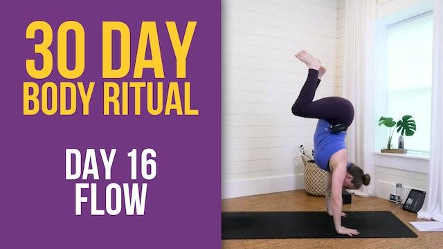 Suzie 30 Day Body Ritual Challenge - Day 16