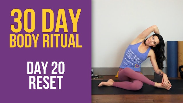 Julia Marie: 30 Day Body Ritual Challenge - Day 20