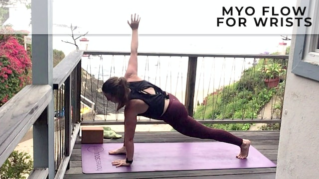 Evelyn at Home : MyoFlow for Better Arm Balances
