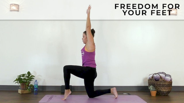 Vanessa : Freedom For Your Feet