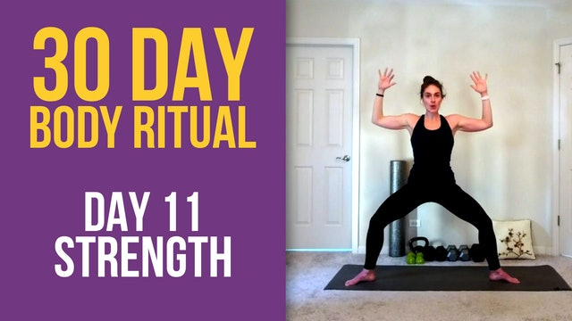 Hannah: 30 Day Body Ritual Challenge -  Day 11