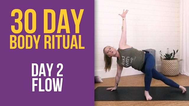 Suzie: 30 Day Body Ritual Challenge - Day 2
