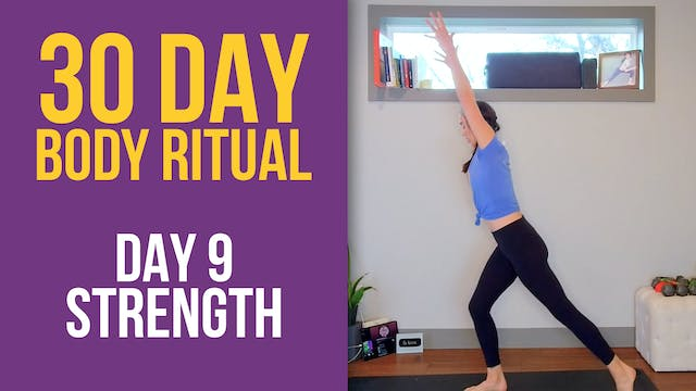 30 Day Body Ritual Challenge: Day 9