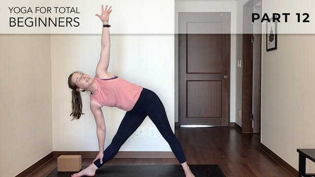 Evelyn - Yoga For Beginners: Triangles