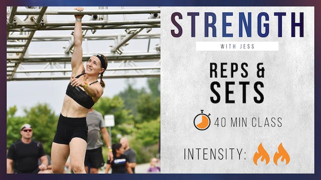 R&G Basic: Reps & Sets with Jess