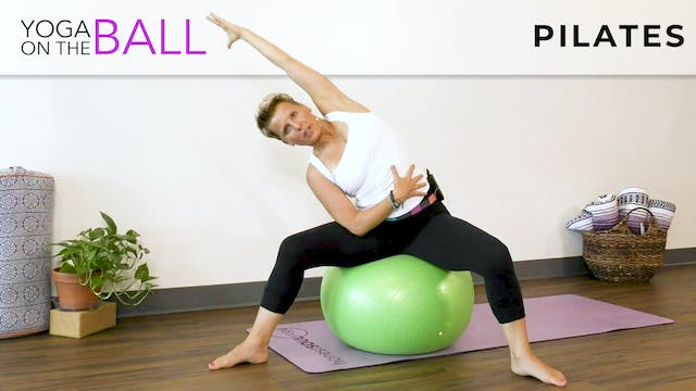 Darina : Pilates On A Fitness Ball