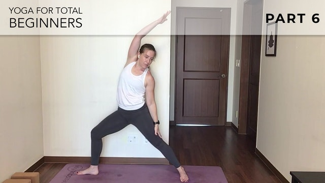 Evelyn at Home: Yoga For Total Beginners - Part 6