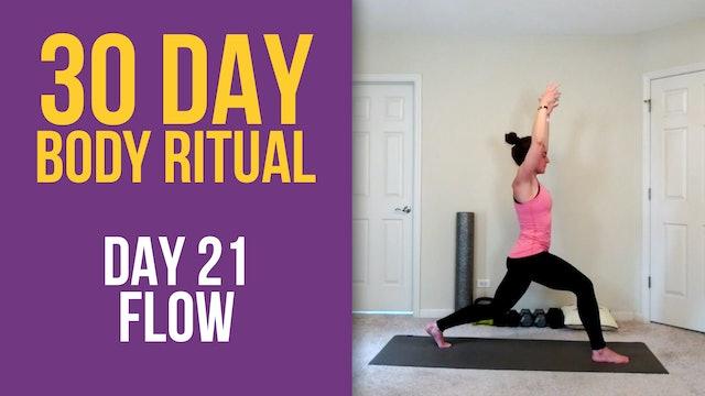 Hannah: 30 Day Body Ritual Challenge - Day 21