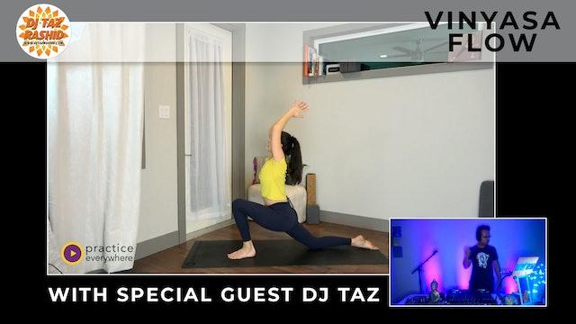 SPECIAL EVENT: Vinyasa Flow With Special Guest DJ Taz Rashid