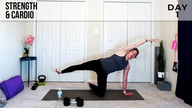 Strength & Cardio Flow: Full Body